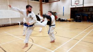 Martial arts classes for adults TKD